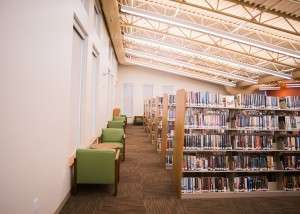 South Parkersburg Library inside