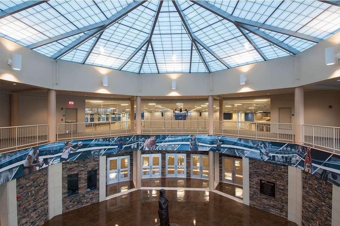 Glenville State College Waco Center Atrium