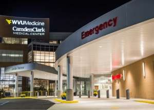 Camdem Clark Medical Center outside