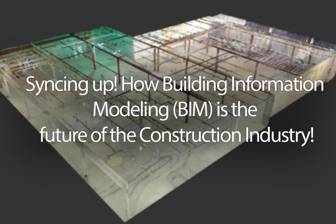 building information model 3d render