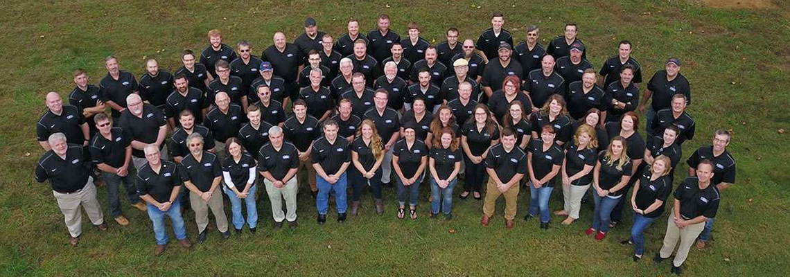 Full architectural, engineering and surveying team at Pickering Associates firm in Ohio and West Virginia
