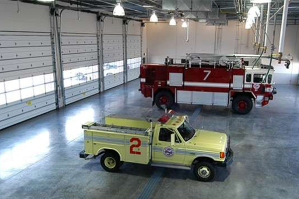 Fire crash and rescue station at Yeager Airport Charleston, WV