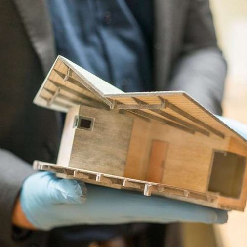 3D printed building designed by Pickering Associates